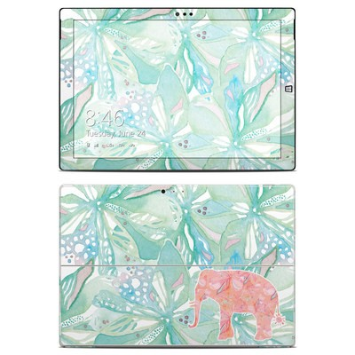 Microsoft Surface Pro 3 Skin - Tropical Elephant