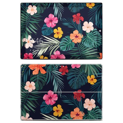 Microsoft Surface Pro 3 Skin - Tropical Hibiscus