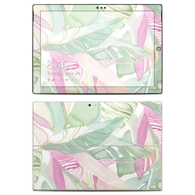 Microsoft Surface Pro 3 Skin - Tropical Leaves
