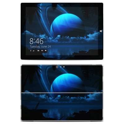 Microsoft Surface Pro 3 Skin - Tropical Moon