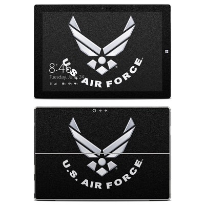 Microsoft Surface Pro 3 Skin - USAF Black