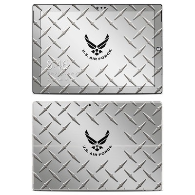 Microsoft Surface Pro 3 Skin - USAF Diamond Plate