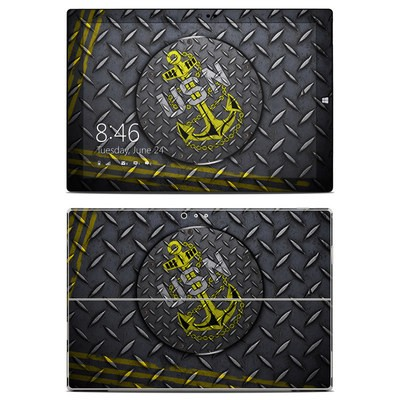 Microsoft Surface Pro 3 Skin - USN Diamond Plate