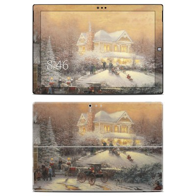 Microsoft Surface Pro 3 Skin - Victorian Christmas