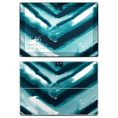 Microsoft Surface Pro 3 Skin - Watercolor Chevron