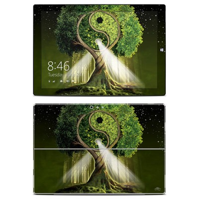 Microsoft Surface Pro 3 Skin - Yin Yang Tree