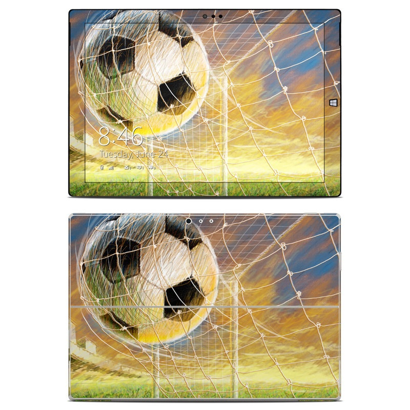 Microsoft Surface Pro 3 Skin Soccer By Sports Decalgirl