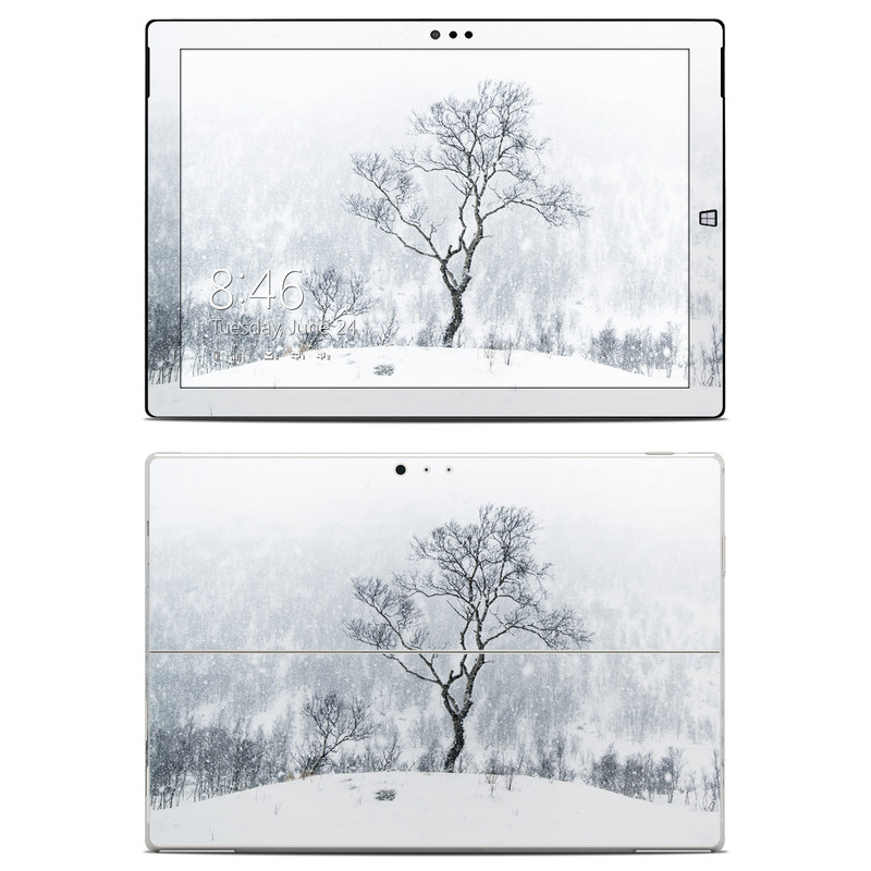 Microsoft surface pro 3 skin winter is coming by andreas stridsberg