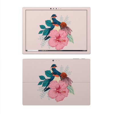 Microsoft Surface Pro 4 Skin - Barn Swallows