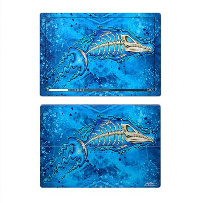 Microsoft Surface Pro 4 Skin - Barracuda Bones