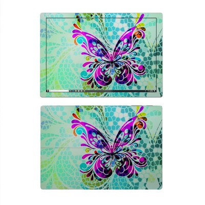 Microsoft Surface Pro 4 Skin - Butterfly Glass