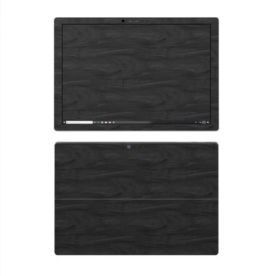 Microsoft Surface Pro 4 Skin - Black Woodgrain