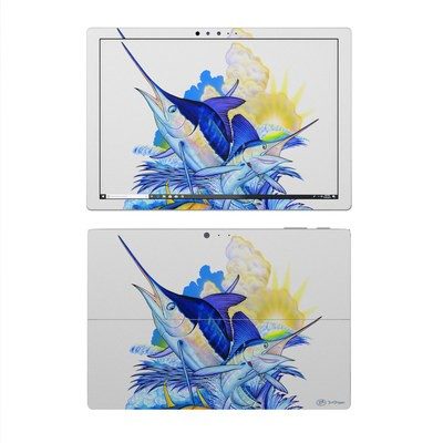 Microsoft Surface Pro 4 Skin - Blue White and Yellow