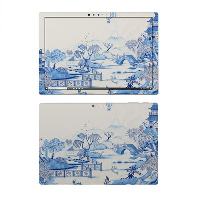 Microsoft Surface Pro 4 Skin - Blue Willow