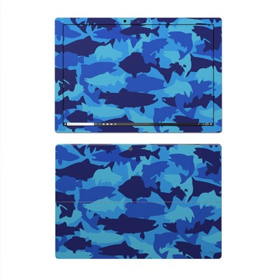 Microsoft Surface Pro 4 Skin - Camo Fish