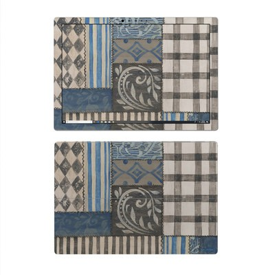 Microsoft Surface Pro 4 Skin - Country Chic Blue