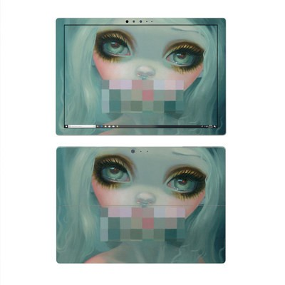 Microsoft Surface Pro 4 Skin - Censored Smile