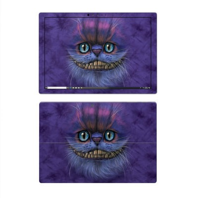 Microsoft Surface Pro 4 Skin - Cheshire Grin