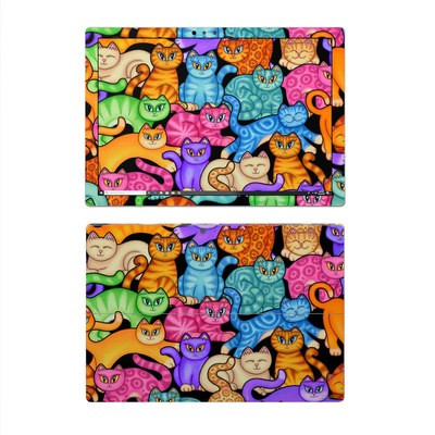 Microsoft Surface Pro 4 Skin - Colorful Kittens