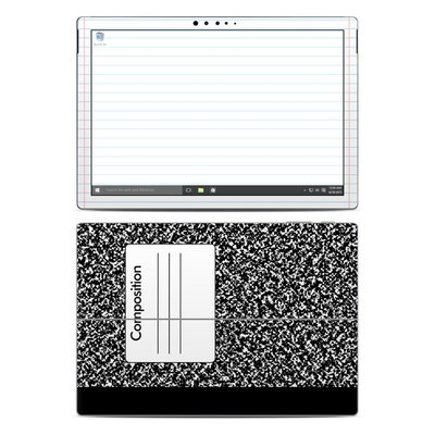 Microsoft Surface Pro 4 Skin - Composition Notebook