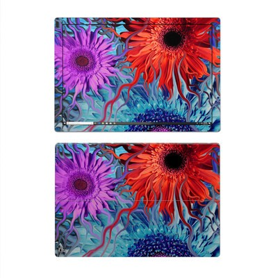 Microsoft Surface Pro 4 Skin - Deep Water Daisy Dance