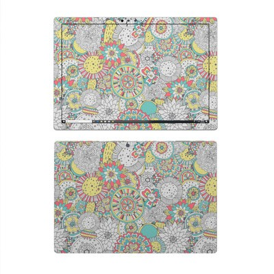 Microsoft Surface Pro 4 Skin - Faded Floral