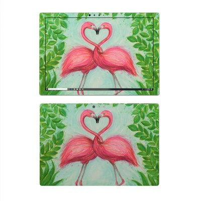 Microsoft Surface Pro 4 Skin - Flamingo Love