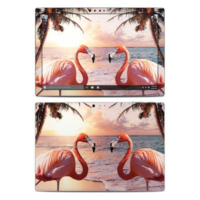 Microsoft Surface Pro 4 Skin - Flamingo Palm