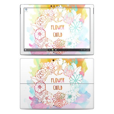 Microsoft Surface Pro 4 Skin - Flower Child