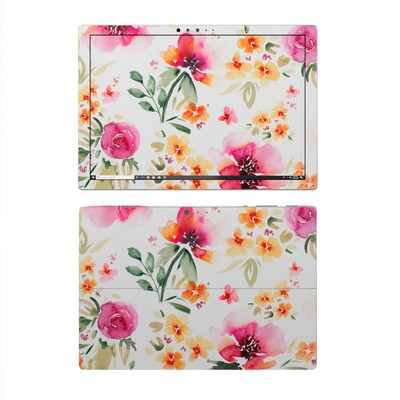 Microsoft Surface Pro 4 Skin - Fresh Flowers