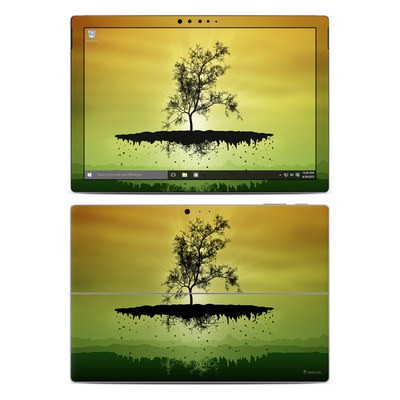 Microsoft Surface Pro 4 Skin - Flying Tree Amber