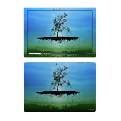 Microsoft Surface Pro 4 Skin - Flying Tree Blue