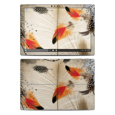 Microsoft Surface Pro 4 Skin - Feather Dance