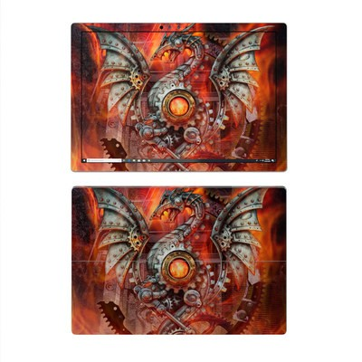 Microsoft Surface Pro 4 Skin - Furnace Dragon