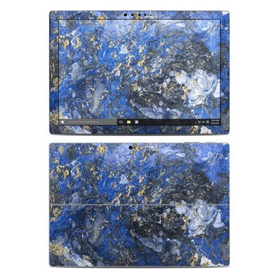 Microsoft Surface Pro 4 Skin - Gilded Ocean Marble