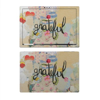 Microsoft Surface Pro 4 Skin - Grateful