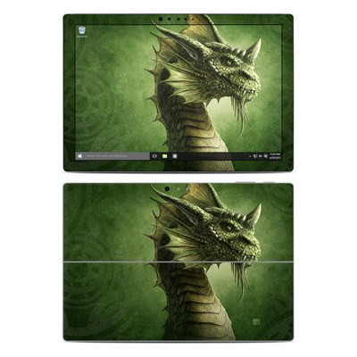 Microsoft Surface Pro 4 Skin - Green Dragon