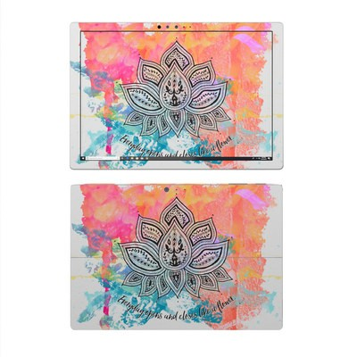 Microsoft Surface Pro 4 Skin - Happy Lotus