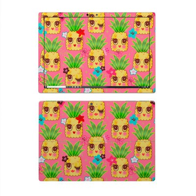 Microsoft Surface Pro 4 Skin - Happy Kawaii Pineapples