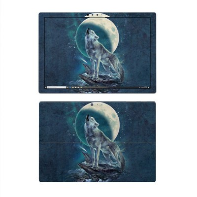 Microsoft Surface Pro 4 Skin - Howling Moon Soloist