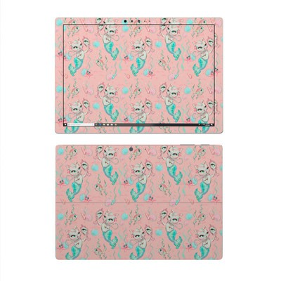 Microsoft Surface Pro 4 Skin - Merkittens with Pearls Blush