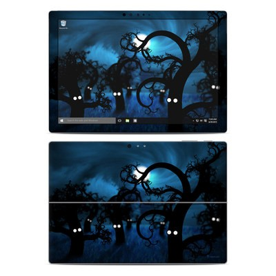 Microsoft Surface Pro 4 Skin - Midnight Forest