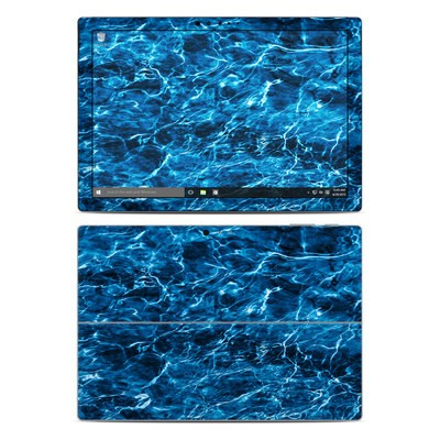 Microsoft Surface Pro 4 Skin - Mossy Oak Elements Agua