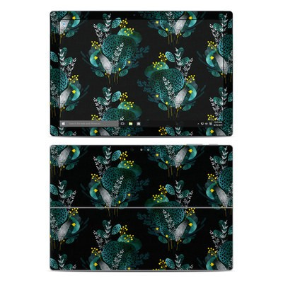 Microsoft Surface Pro 4 Skin - Night Seaflower