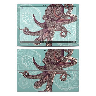 Microsoft Surface Pro 4 Skin - Octopus Bloom