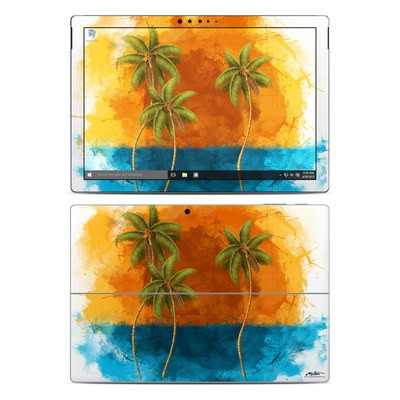 Microsoft Surface Pro 4 Skin - Palm Trio