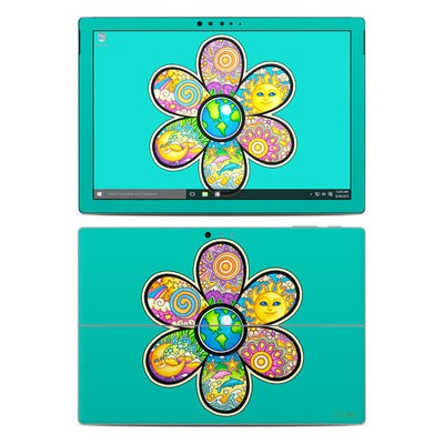 Microsoft Surface Pro 4 Skin - Peace Flower