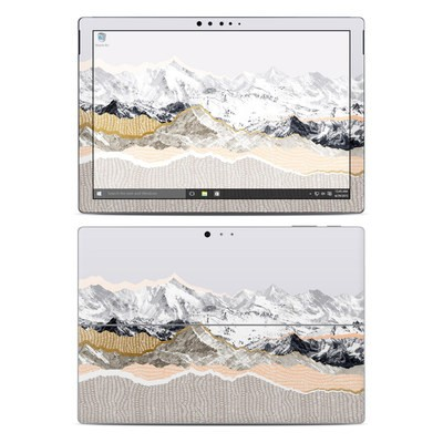 Microsoft Surface Pro 4 Skin - Pastel Mountains