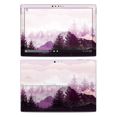 Microsoft Surface Pro 4 Skin - Purple Horizon