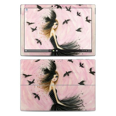 Microsoft Surface Pro 4 Skin - Raven Haired Beauty
